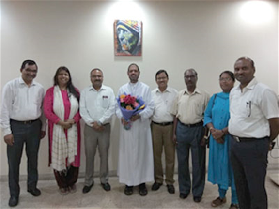 All India Catholic Union Office Bearers, Delhi Unit Promise Collaboration and support to the Catholic Bishops' Conference